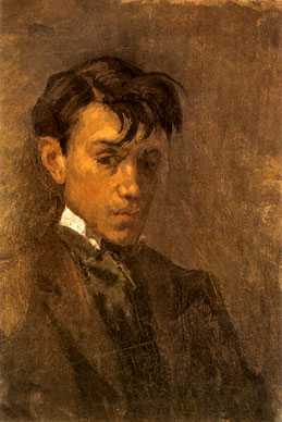 Self portrait with uncombed hair 1896