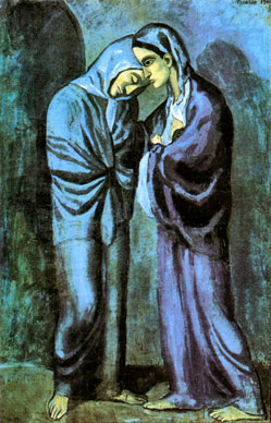 Pablo Picasso, Two Sisters - The Meeting