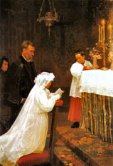 The First Communion, 1896