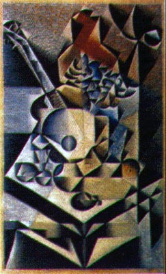 Juan Gris - synthetic cubism