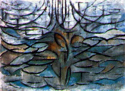 Piet Mondrian - Apple Tree